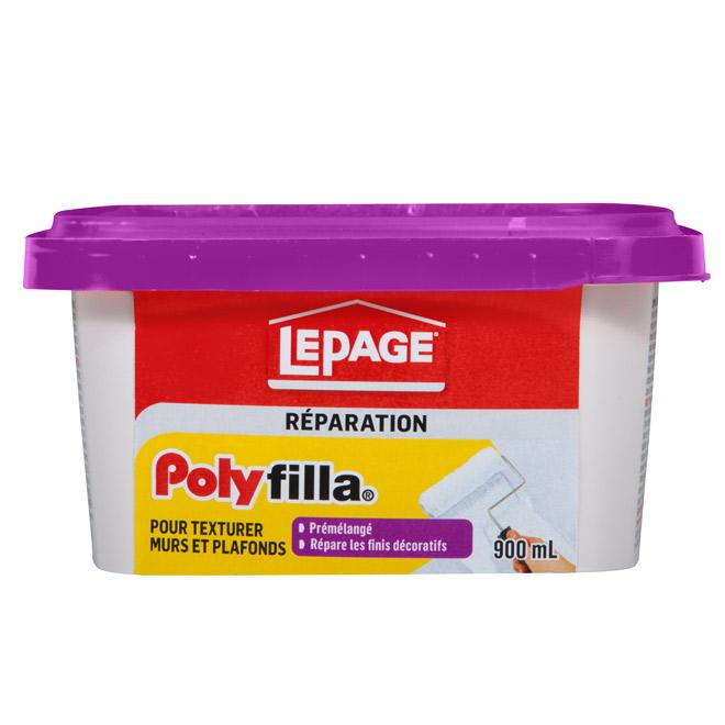 Polyfilla LePage pour murs et plafonds texturés, 900 ml