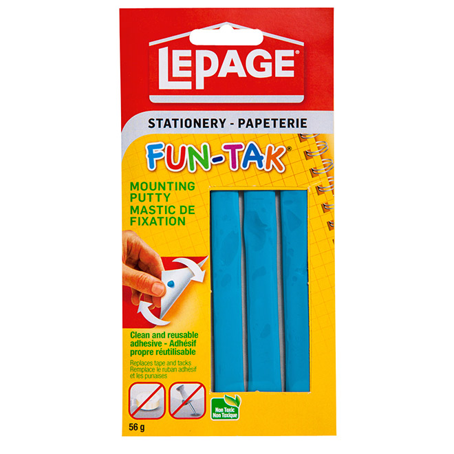 LePage Fun-Tak Mounting Putty - 56 g