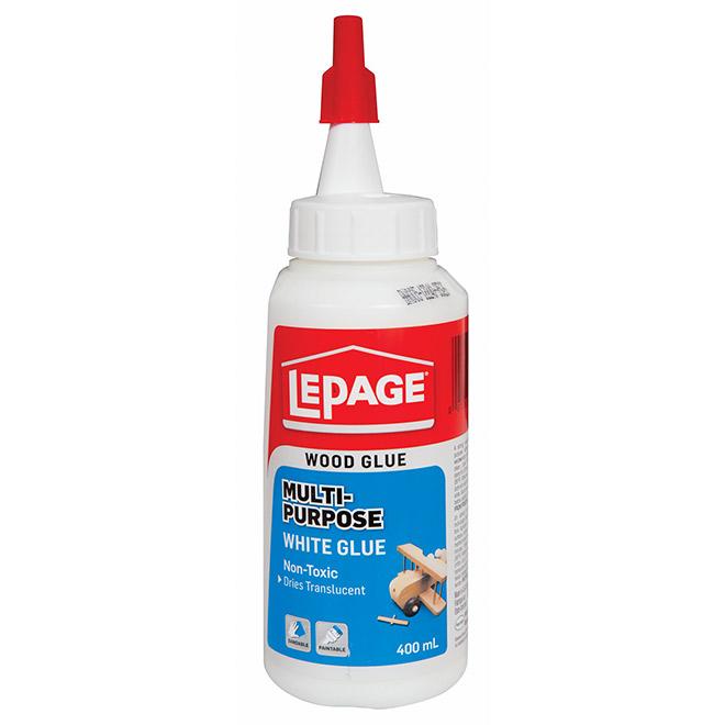 LePage Multi-Purpose White Glue - 400 mL