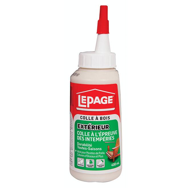 Colle à bois LePage à l'épreuve des intempéries, 400 ml