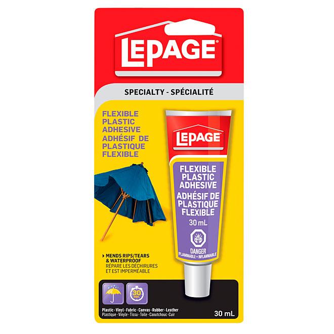 LePage Flexible Plastic Adhesive - 30 mL