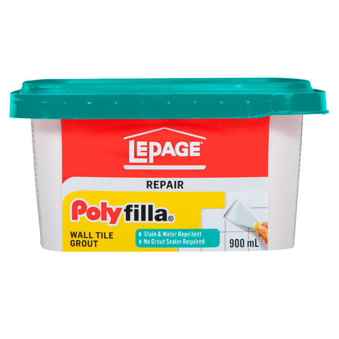 LePage Polyfilla Wall Tile Grout - 900 mL