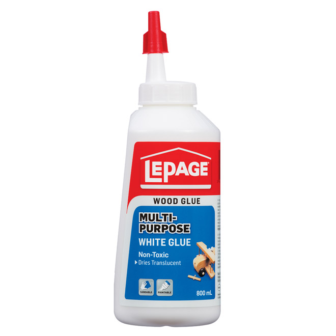 LePage Multi-Purpose White Glue - 800 mL