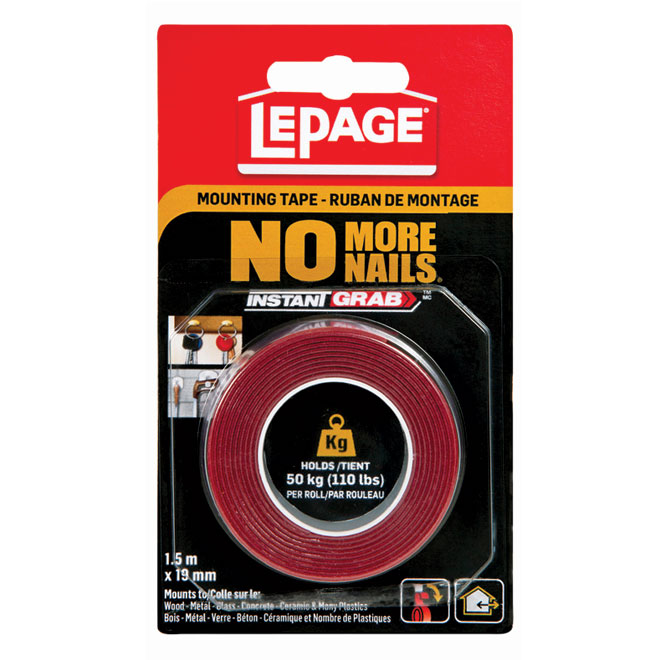 """""""No More Nails"""" Mounting Tape"""
