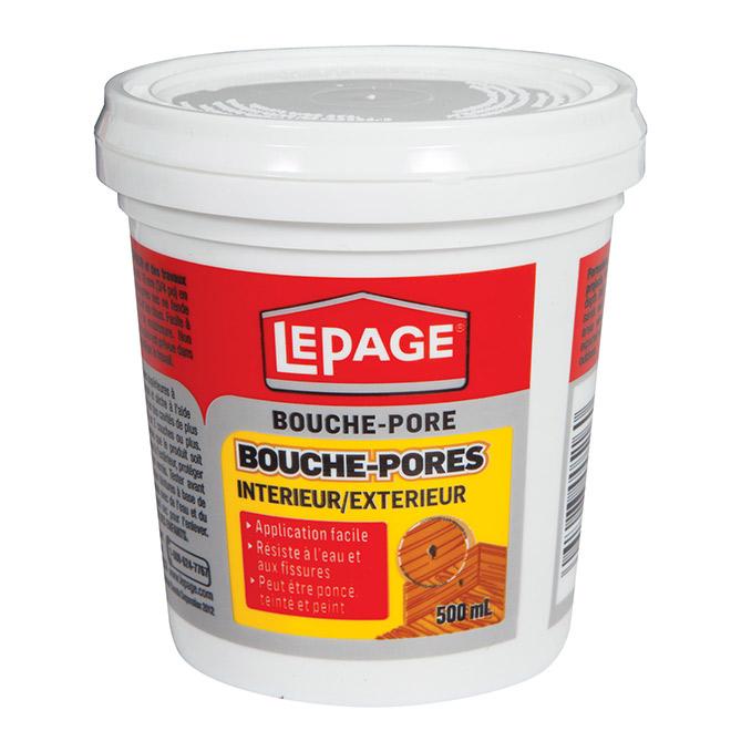 Bouche-pores LePage, intérieur et extérieur, 500 ml