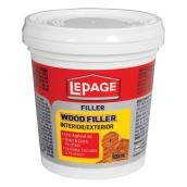LePage Wood Filler - Interior and Exterior - 500 mL