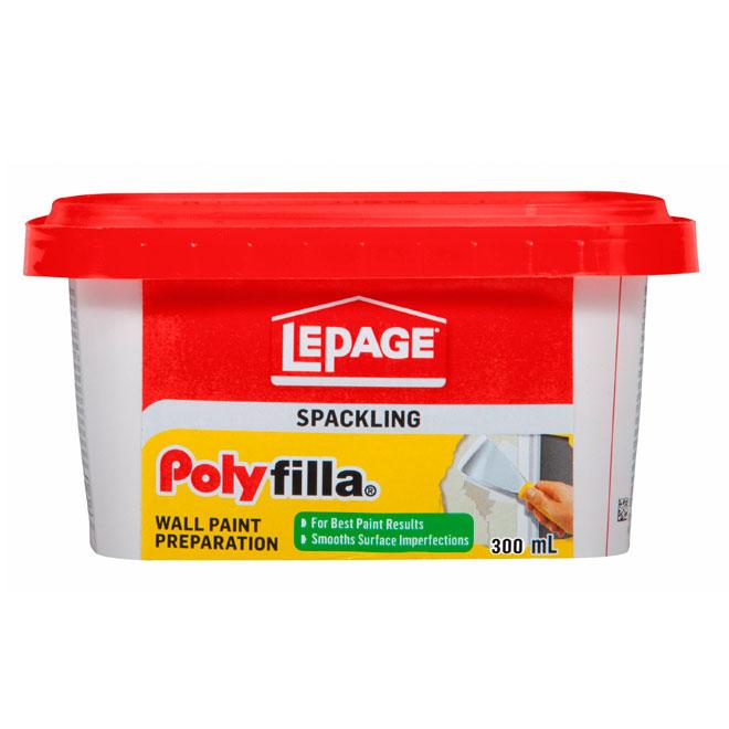Composé pour préparation des murs Polyfilla LePage, 300 mL