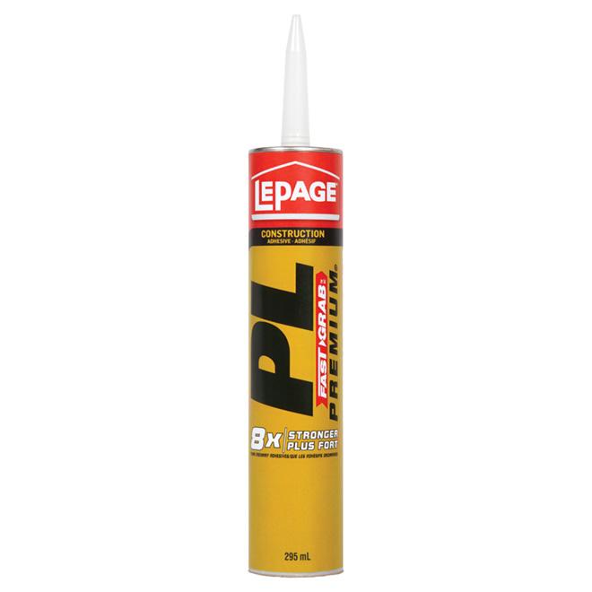 Adhésif de construction PL Fast Grab LePage, 295 ml