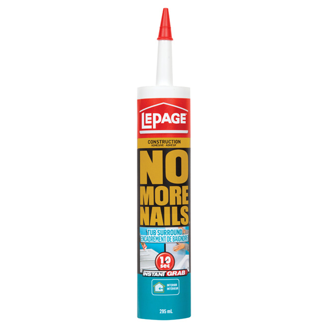 """No More Nails"" Adhesive"