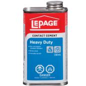 LePage Heavy Duty Contact Cement - 250 mL