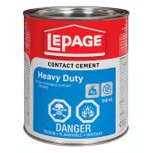 LePage Heavy Duty Contact Cement - 946 mL