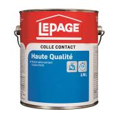 Colle contact ultra robuste LePage, 3,8 l