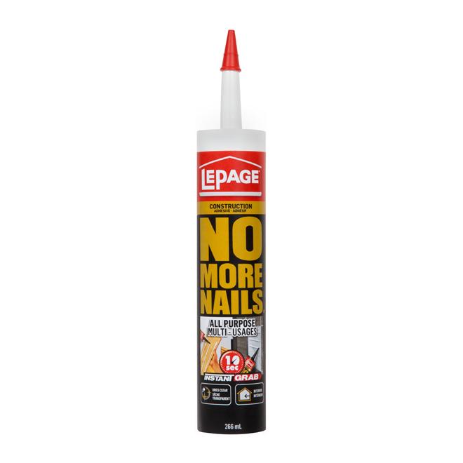 """""""No More Nails"""" All-purpose adhesive"""