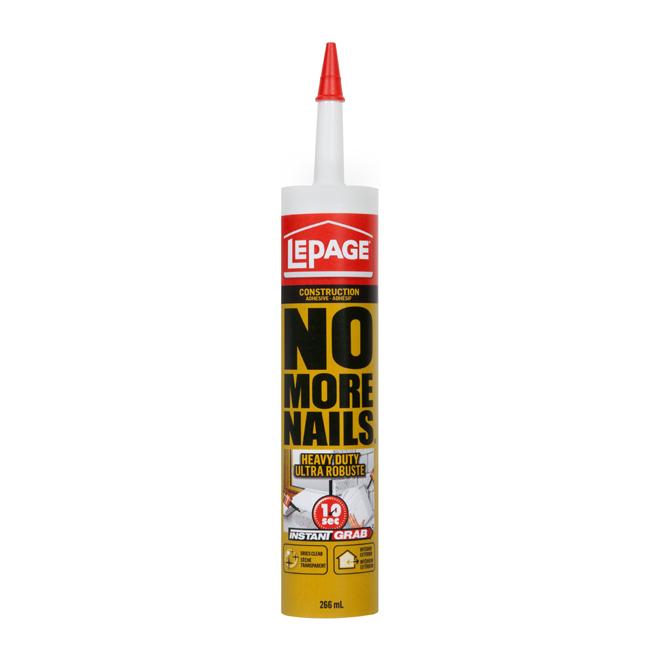 """""""No More Nails"""" Adhesive"""