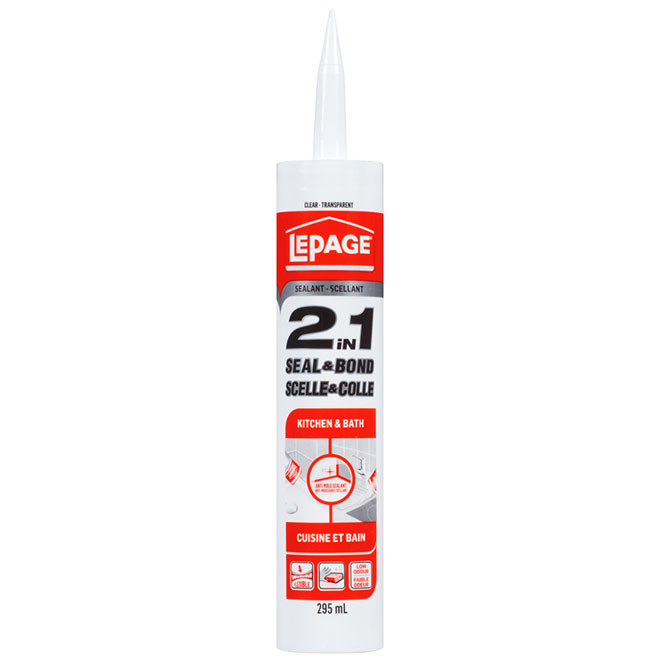 """Ultra Seal(MC)"" Kitchen and Bath Acrylic Caulking"