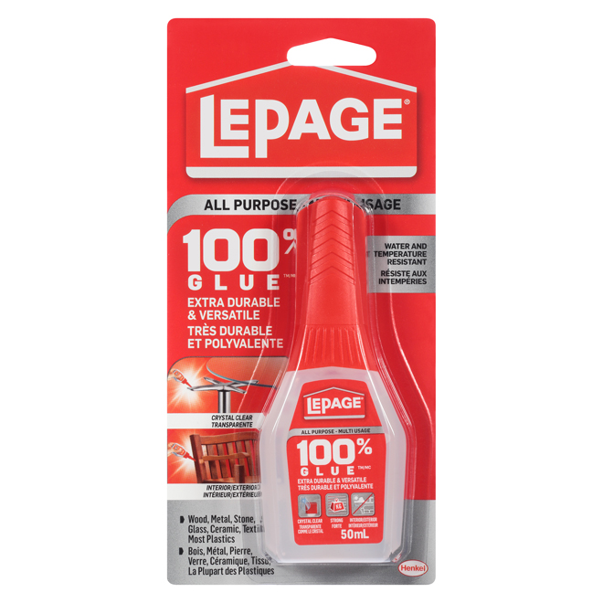 Colle 100 % tout-usage LePage, 50 ml
