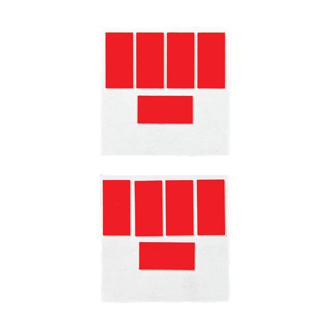 """Permanent Adhesive Strips - """"No More Nails"""""""