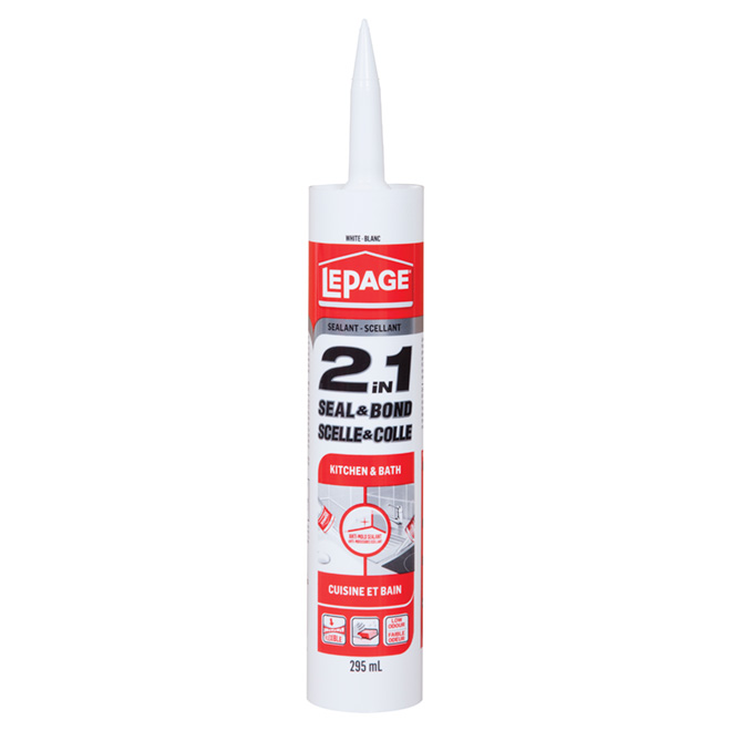 LePage Sealant 2 in 1 - White - 295 mL