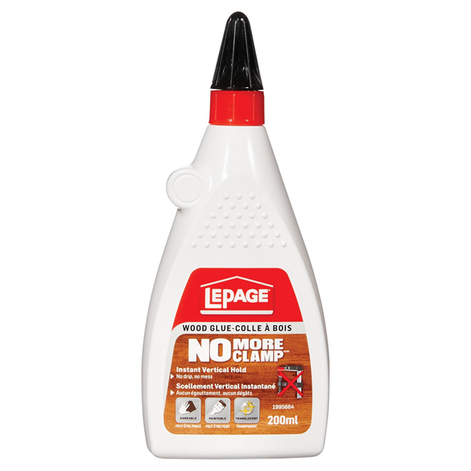 LePage No More Clamp Wood Glue - 200 mL