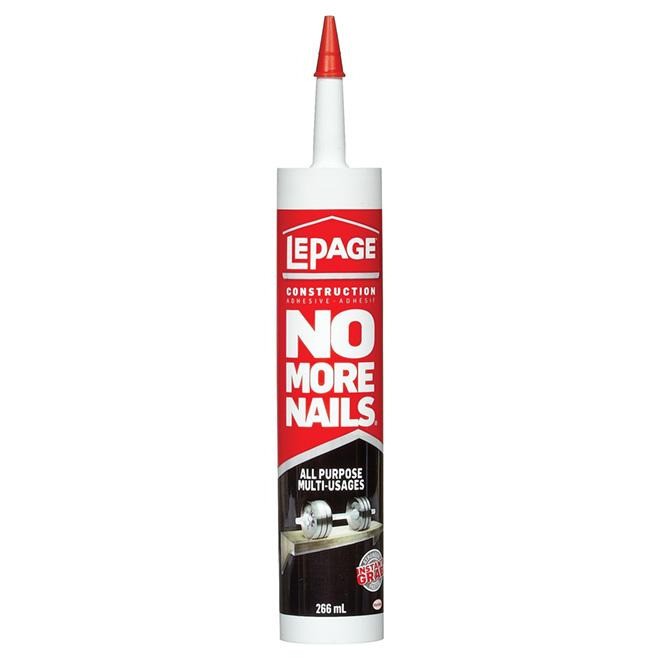 No More Nails All-Purpose Adhesive - White - 266 mL