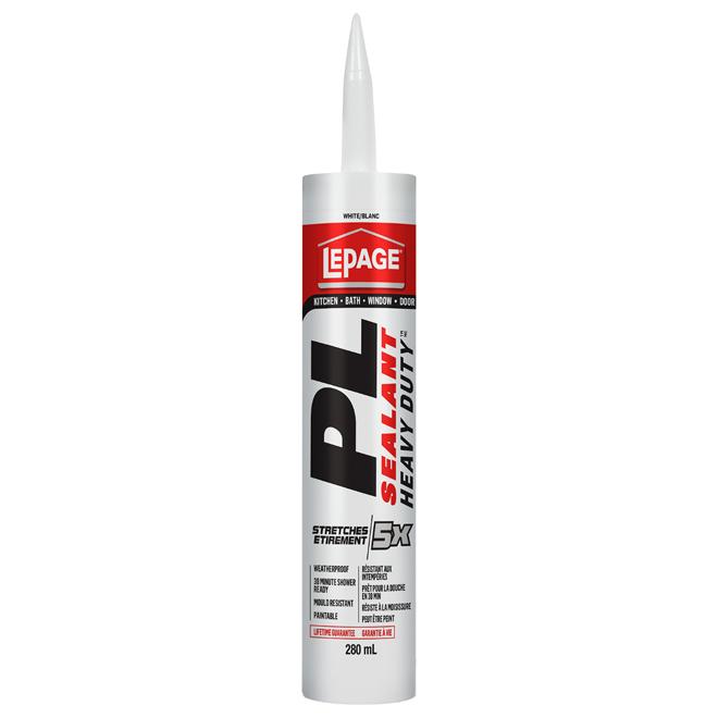 All-purpose ''PL Heavy Duty'' Sealant - 280ml - White