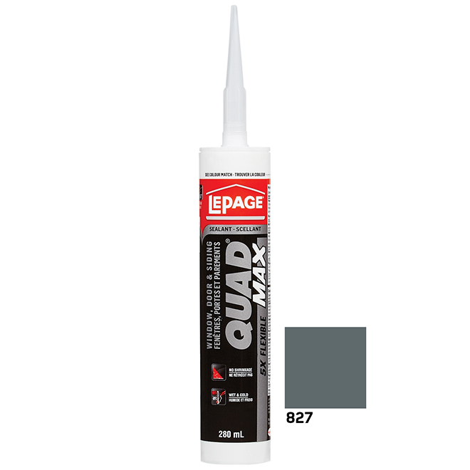 LePage Quad Max Doors/Windows Sealant - Evening Blue - 295 mL