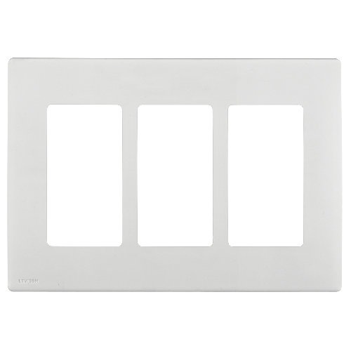 Triple wall plate