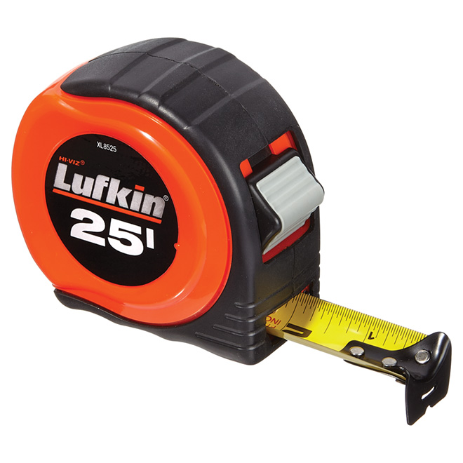 "25' ""L800"" Measuring Tape with Cushion Case"
