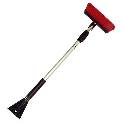 Brosse à neige téléscopique, 36'', noir/rouge