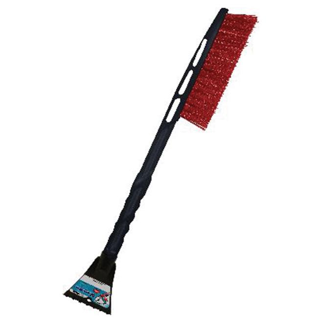 Snow Brush - 23'' - Red/Black