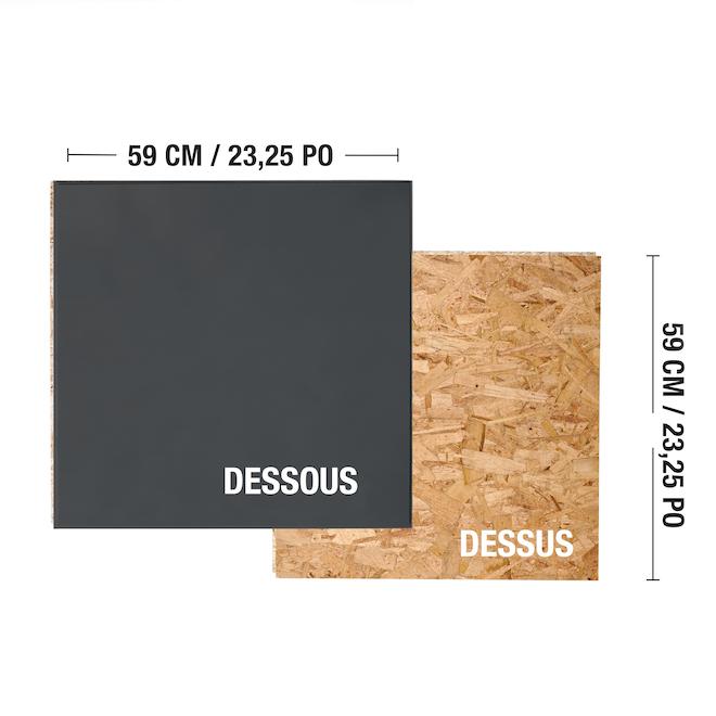 "Insulated OSB Subfloor Panel - 23.5"" x 23.5"""