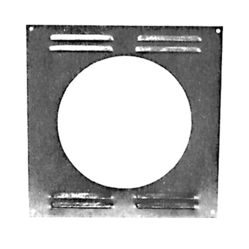 Exterior wall plate