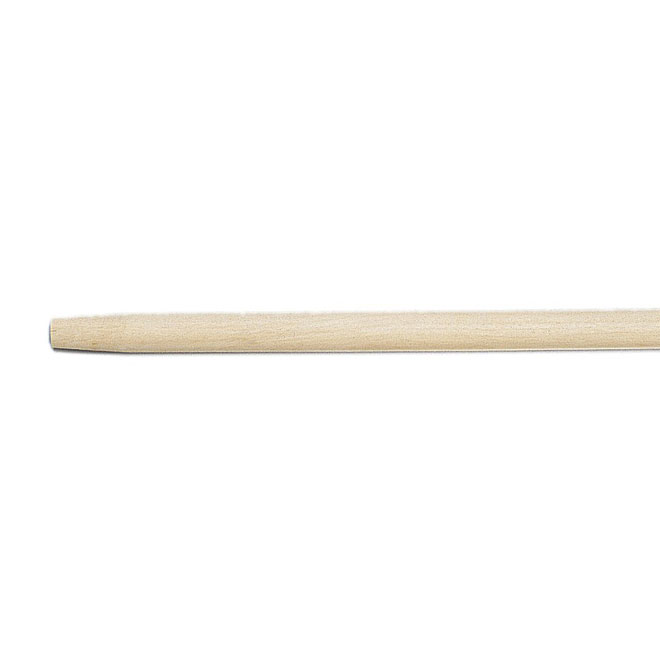 """Wooden Handle with Tapered End - 54"""""""