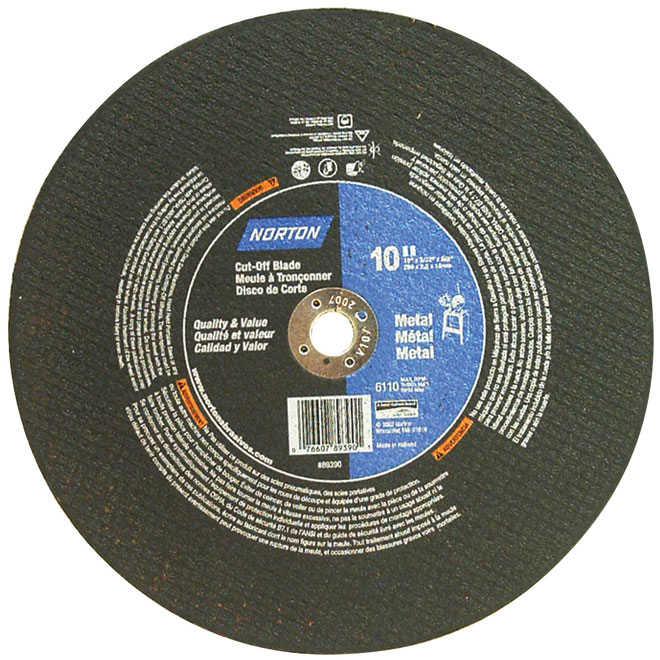 "10"" x 5/8"" x 3/32"" Metal Cutting Blade"