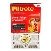 Filtrete 16-in x 25-in x 4-in Allergen Reduction Electrostatic Pleated Air Filter