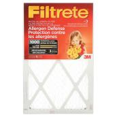 Filtrete Micro-Allergen Reduction Furnace Filter - 20-in x 20-in x 1-in