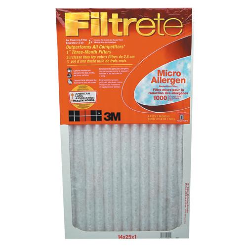 """Filtre à air « Filtrete », 14""""x25""""x1"""""""