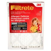 """Filtrete"" Air Filter - Micro Allergen - 15'' x 20'' x 1''"