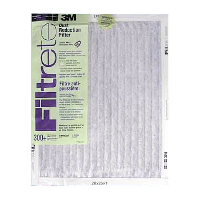 3M 20-in x 25-in x 1-in Dust Reduction Electrostatic Pleated Air Filter