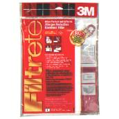 Filtrete Micro Filter - 30-in x 60-in - Red