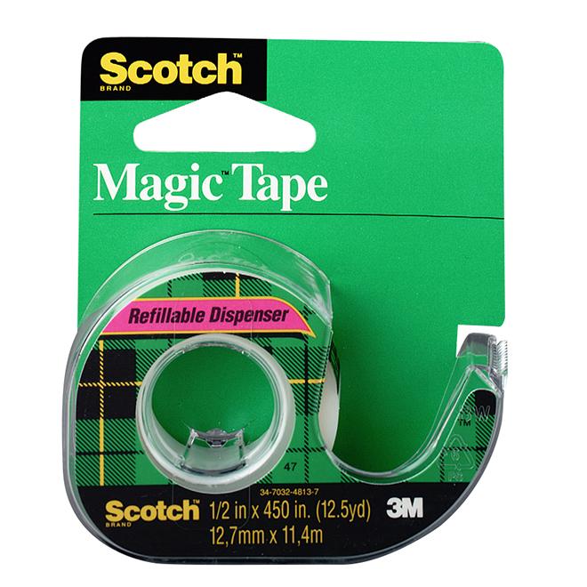 Scotch Magic Tape 12.7 mm x 11.43 m