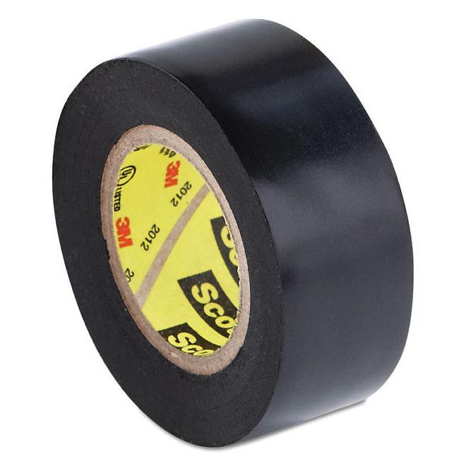 Ruban isolant Super 33(MC) en vinyle, 66', noir