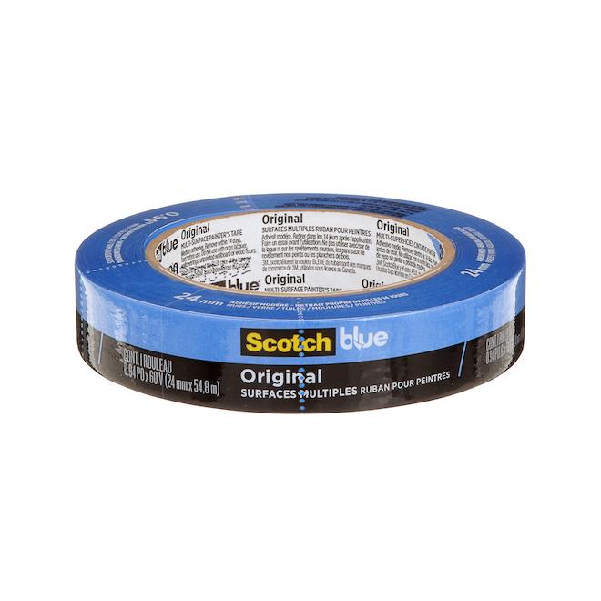 "ScotchBlue Painter's Tape for Multi-Surfaces - 1"" x  60 V"