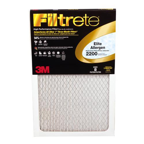 Filtrete Furnace Filter - Fiberglass - 16-in x 25-in x 1-in
