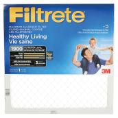 Filtrete 16-in x 25-in x 1-in 1900 MPR Maximum Allergen Reduction Electrostatic Pleated Air Filter