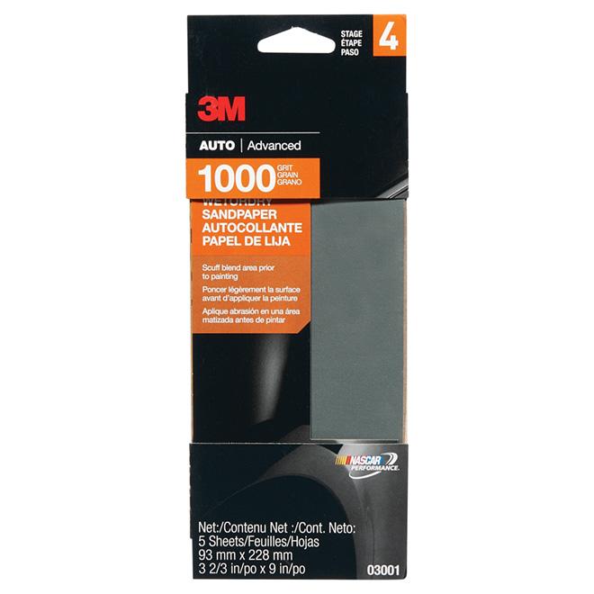3m Ultra Fine Grit Automotive Sanding Paper 03001na Rona