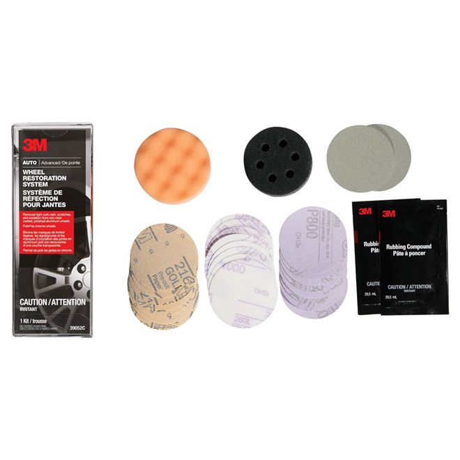 Aluminum Wheel Restoration Kit