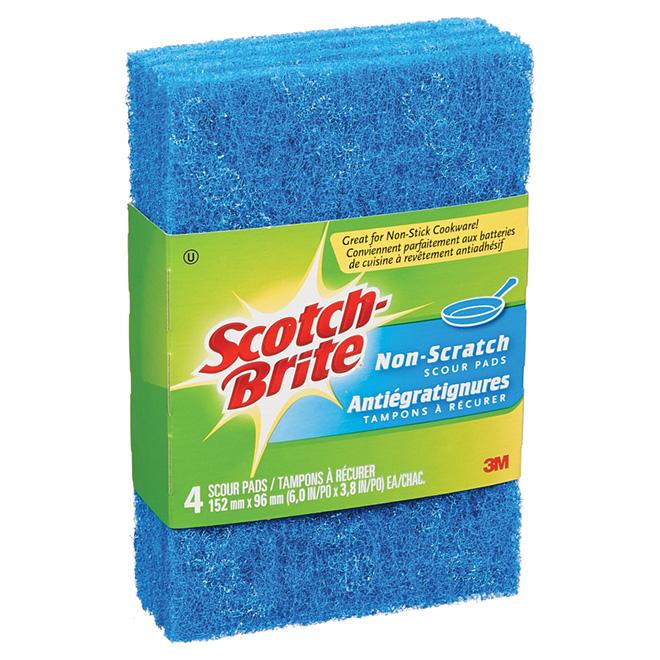 4-Pack Multi Purpose No Scratch Scour Pads