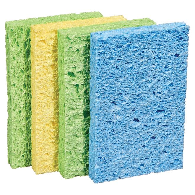 4-Pack Cellulose Sponges