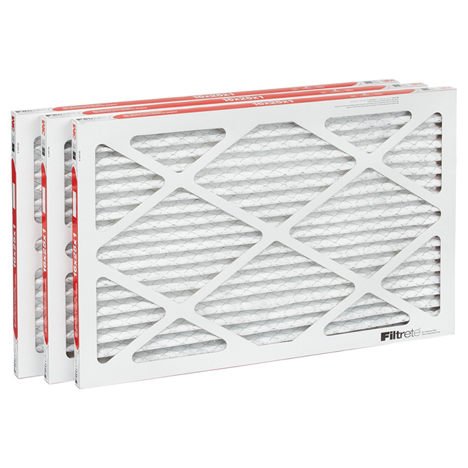 "Filtrete Furnace Filter - 16"" x 25"" - 3-Pack"